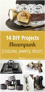Diy Steampunk Home Decor 14 Diy Steampunk Projects Costume Jewelry Decor Tip Junkie