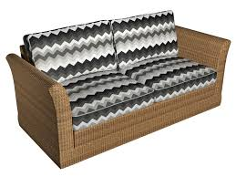 Outdoor Furniture Upholstery Fabric Black Grey And White Chevron Flame Stitch Outdoor Upholstery