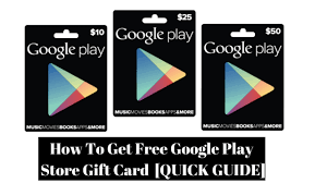 play store gift cards how to get free play store gift card guide working