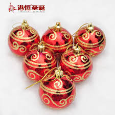 factory wholesale hong kong hang christmas tree decorations 6cm