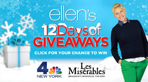 click for a chance to win ellen u0027s 12 days of giveaways nbc new york