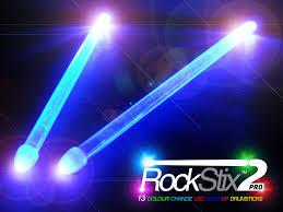 stick up led lights rockstix 2 colour change led light up drumsticks youtube