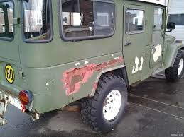 military land cruiser toyota land cruiser bj45 4x4 long low 1981 used vehicle