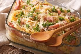 cuisine autrichienne cuisine autrichienne nouilles cuites au four avec le plan