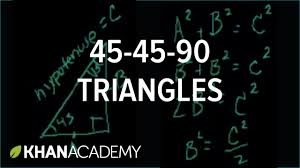 Pythagorean Theorem Triples Worksheet 45 45 90 Triangles Right Triangles And Trigonometry Geometry