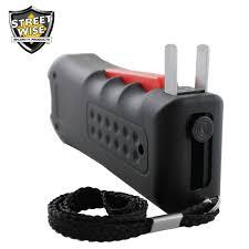 black jack 21 streetwise blackjack stun gun fllashlight and alarm