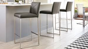 Leather Bar Chair Contemporary Real Leather Barstools Youtube