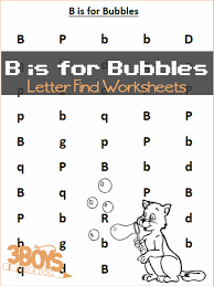 find the letter printables b is for bubbles u2013 3 boys and a dog