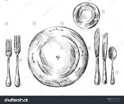 Formal Table Setting Style Wondrous Table Setting Forks On The Right A Table Setting
