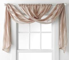 to hang curtains with valance