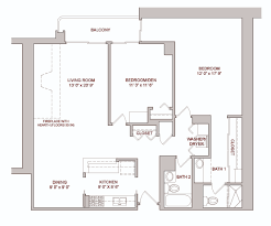 Den Floor Plan Marquette Place Floor Plans