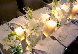 jf floral couture a dainty white and green chic wedding tabletop