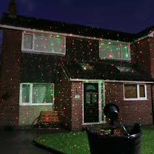 Outdoor Chrismas Lights Laser Light Projector With Remote And Green Leds
