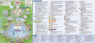 Disney Park Maps Park Map For Epcot International Food And Wine Festival 2017