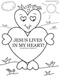 jesus in the manger coloring page valentine u0027s day coloring page for sunday jesus lives in my