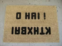 funny doormats 23 very cool doormats smosh