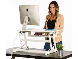 Standing Desk Adapter by Standing Desk The Deskriser Height Adjustable Sit Stand Up