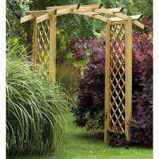 garden wooden arches designs garden design ideas