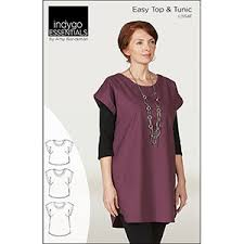blouse sewing patterns indygo junction easy top tunic sewing pattern charlee