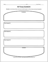 Klocke          Comp   Literary Analysis Essay Write a     page     Literary Analysis Essay Graphic Organizer