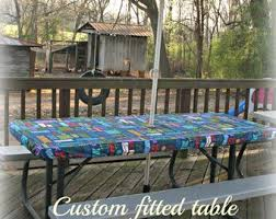 stay put table covers stay put tablecloth etsy