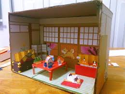japanese paper house diorama a dolls house decorating and