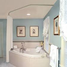 Round Shower Curtain Rod For Corner Shower Shower Corner Shower Stalls Home Depot Canada Curved Corner