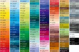 vehicle paint color chart amazing metallic car paint color chart