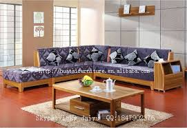 Solid Wood Living Room Furniture Solid Wood Sofa Living Room Furniture Fabric Comfortable L Shaped