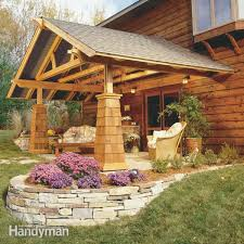 How To Build A Pergola On Concrete by How To Build A Pergola Pergola Plans U2014 The Family Handyman