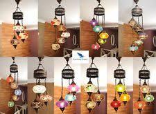 Mosaic Chandelier Turkish Mosaic Chandelier Ebay