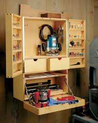 Router Cabinet by Router Bit Cabinet Woodsmith Plans