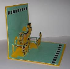 susan bluerobot tiger pop up card plus pattern for sure cuts a lot