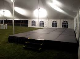 platform tent staging platform runway stage deck broadway party u0026 tent rental