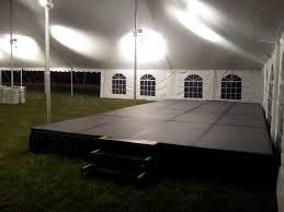 staging platform runway stage deck broadway party u0026 tent rental