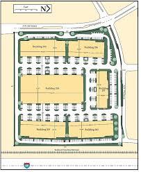 Building Site Plan Building Specifications Boca Industrial Park