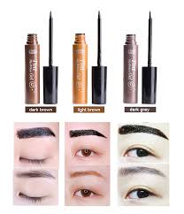 the new peel off eyebrow tint gel tattoo makeup eyebrow cream dye