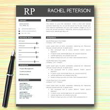 one page resume print one page resume template free word resume template word format