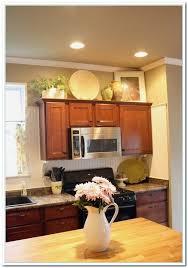 top of kitchen cabinet decor ideas kitchen cabinet decor home decor gallery