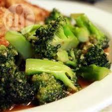 cuisiner les brocolis brocoli à la chinoise recettes allrecipes québec