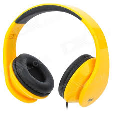 headband mp3 cheap ilead mp3 headband foldable headphone yellow black