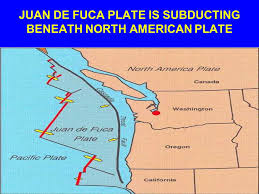 physical map of oregon juan de fuca plate plate tectonics a primer ppt