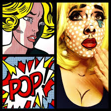 pop art halloween popart costume comic halloween pinterest