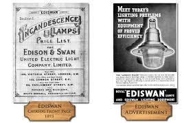 ads for edison swan united electric light company sles