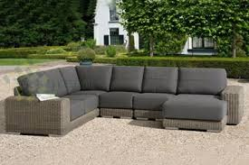 Evergreen Wicker Furniture Thickness Cushion Outdoor Furniture - Patio furniture sofa sets