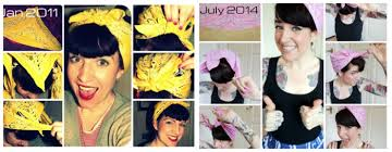 1940s bandana hairstyles land girl bandana tutorial or how to cover your curlers