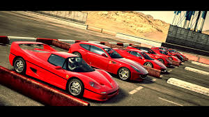 fastest ferrari world u0027s greatest drag race eight ferrari u0027s in one race forza