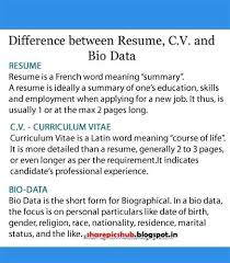 aa cv cv and resume difference foodcity me