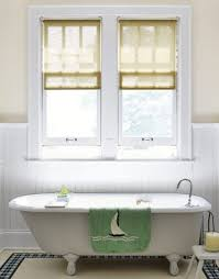 Small Window Curtain Decorating Bathroom Bathroom Enchanting Curtains For Small Windows Pics