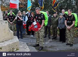march for honour remembrance day british army stock photo royalty